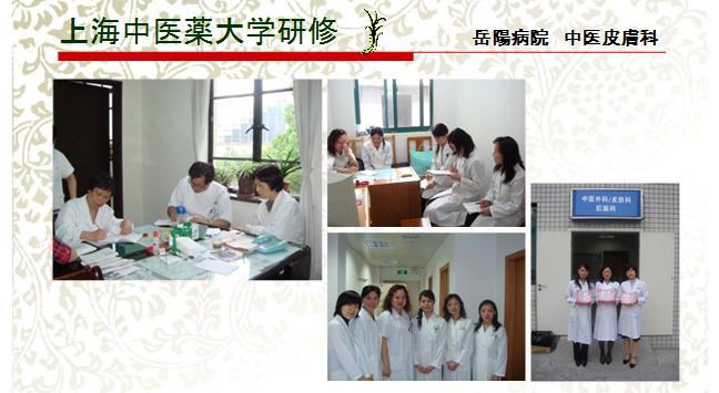 上海中医薬代額研修の様子